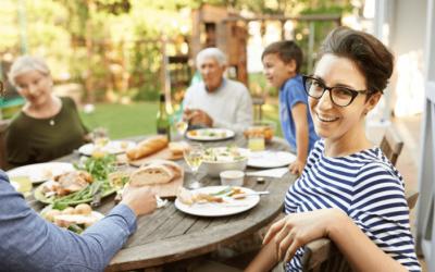 En famille vers une alimentation majoritairement végétale
